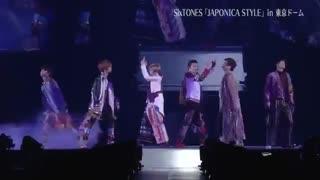 اجرای گروه موسیقی ژاپنی Six TONES /JPOP (جی پاپ)