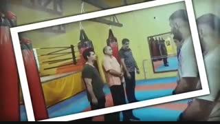   حضور سرمربی تیم ملی بوکس امید ایران در آکادمی تخصصی بوکس هفت تیر کرج در مورخ ۲۰ تیرماه