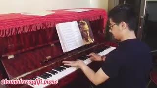 آموزش تخصصی پیانو / جلسه ششم آموزش / حمیدرضا عفیفی
