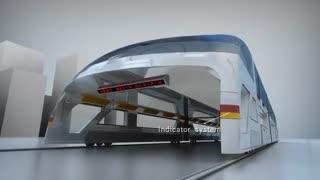 اتوبوس های تونل واربرای دنیای فردا-معضل ترافیک وآلودگی هوا را رفع میکنند