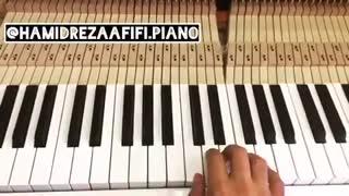 آموزش پیانو / حمیدرضا عفیفی/ hamidrezaafifi