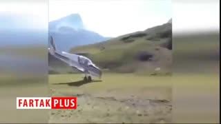 فرودی عجیب که در تاریخ هواپیمایی جهان ثبت شد!