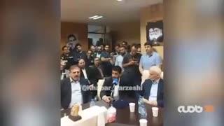 صحبت های علیرضا دبیر رئیس جدید فدراسیون کشتی در مراسم معارفه