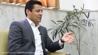 مصاحبه با علیرضا فغانی داور بین المللی فوتبال پس از حضور در امتحان جامع دکتری