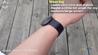 ویدئوی آنباکس ساعت هوشمند شیائومی مدل Mijia Quartz