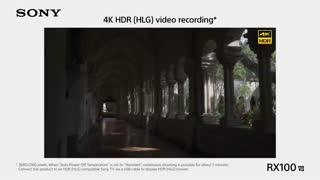 تیزر معرفی دوربین فوق العاده سونی سایبرشات  RX100 VII