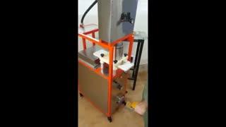 همبرگرزن و دستگاه تولید همبر و همبرگر و کباب لقمه اطلس ماشین مدل MegaFastfood
