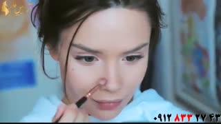 کلیپ  میکاپ دخترانه زیبا + آرایش مدل سلنا گومز