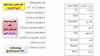 کدینگ لغات کتاب 504 و کتاب 1100 واژه-آمادگی جهت آزمون آیلتس