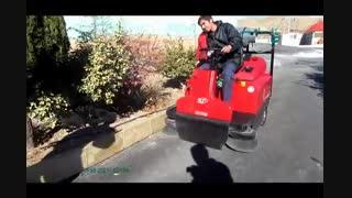 سوییپر صنعتی - نظافت محوطه