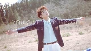 [LYRICS] BTS Jungkook - Purpose (Cover) (Lyric Video)