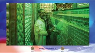 غبارروبی حرم مطهر حضرت شاهچراغ (ع) توسط خبرنگاران شیرازی