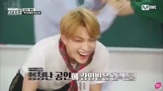 ATEEZ funny moments pt1