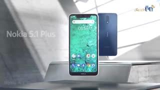 ویدئوی طراحی حیرتانگیز گوشی نوکیا مدل 5.1Plus