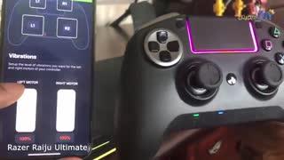 ویدئوی دسته بازی Razer مدل Raiju Ultimate