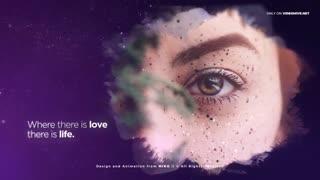 دانلود پروژه افترافکت نمایش ویدیویی اسلاید شو رمانتیک Romantic Slideshow - Stars