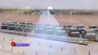 رونمایی از خودروهای تاکتیکی ارس 2 با حضور وزیر دفاع در اصفهان