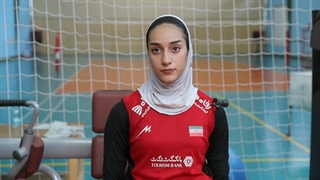 گپ و گفت با هاله متقیان لیبروی تیم ملی والیبال بانوان ایران، پیش از رقابتهای قهرمانی آسیا