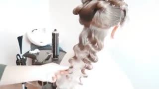 آموزش مو باز موج دار- مومیس مشاور و مرجع تخصصی مو