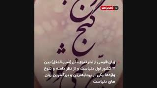 شگفتانه های زبان فارسی