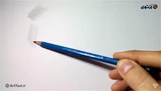 پنج روش کنترل فشار دست در طراحی  با مداد - روش دوم