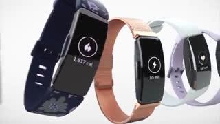 مچ بند هوشمند ورزشی fitbit inspire HR