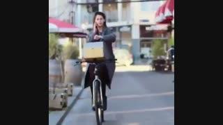 با این دوچرخه اگر زمین خوردی جایزه داری