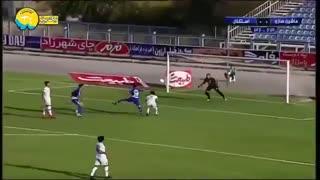 خلاصه بازی ماشینسازی تبریز 1_0 استقلال (هفتۀ 1 لیگ برتر)