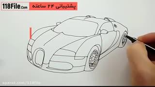 آموزش نحوه نقاشی انواع ماشین به کودکان