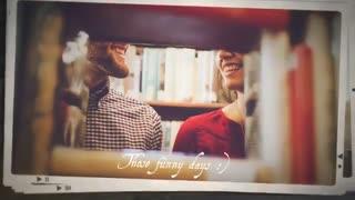 دانلود پروژه افترافکت اسلاید شو خاطرات شیرین Sweet Memories Slideshow