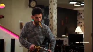 طنز امین حیایی ، رقص به همراه فری (محسن کیایی) در سریال ساخت ایران ۲