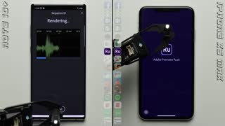 مقایسه تست سرعت Galaxy Note 10+ در برابر  iPhone XS Max