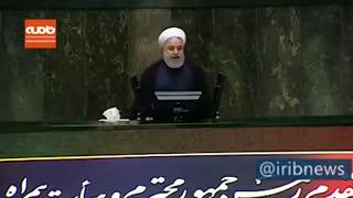 روحانی: این همه پیغام و پسغام به خاطر یأسی است که بر دشمن افتاده است