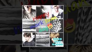 *Happy birthday got7`s Mark*