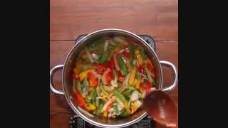 دستور آسان آشپزی: پاستا مرغ