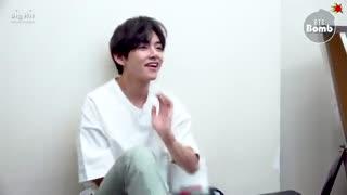 BTS. j-hope & V reaction to TXT Cat & Dog  بنگ تن بمب جی هوپ و وی