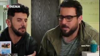 طنز محسن کیایی سکانس تهیه بلیت هواپیما در سریال ساخت ایران دو