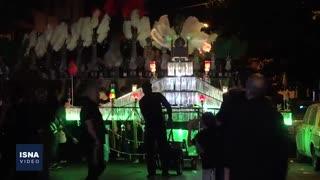 عزاداری شب عاشورا در تهران