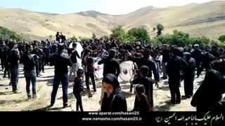 روستای زرجه بستان - مراسم عزاداری تاسوعای حسینی - محرم 1398