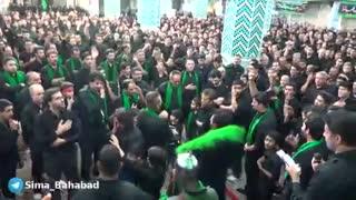 33-عزاداری محرّم98 هیئت حسینیّه  فاطمیّه باغستان درشب تاسوعا در مسجدجامع