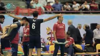 نگاهی دیگر به روز سوم مسابقات قهرمانی آسیا از دریچه دوربین فدراسیون والیبال