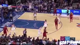 شوت های سرنوشت ساز در ثانیه های پایانی بسکتبال