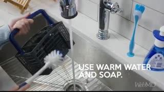 چگونه ماشین ظرفشویی را تمیز کنیم: