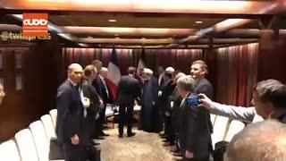 دیدار روحانی و مکرون در حاشیه مجمع عمومی سازمان ملل در نیویورک