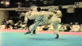 Most Unusual yet Effective Kick Ever - Kyokushin Karate