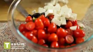 سالاد پاستا پنه | فیلم آشپزی