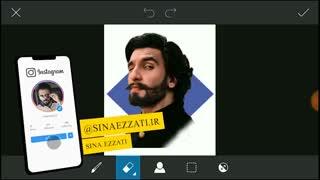 آموزش کارتونی کردن عکس پروفایل با اپلیکیشن پیکس آرت