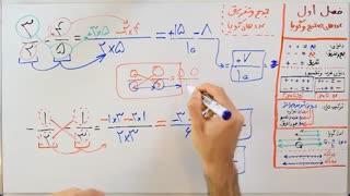 ریاضی 8 - فصل 1 - بخش 4 : جمع و تفریق عددهای گویا