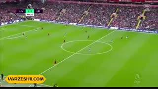 خلاصه بازی لیورپول 2_1 لسترسیتی (هفتۀ 8 لیگ برتر انگلیس)