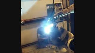 جوشکاری میگ مگ رباتیک   MIG MAG Welding